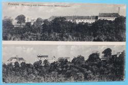 Ansichtskarte Freising. Akademie und Staatsbrauerei Weihenstephan