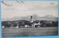 Ansichtskarte Götting, 10.3.1929