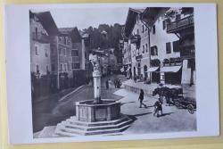 Ansichtskarte Berchtesgaden, Marktplatz