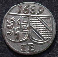 Salzburg, Johann Ernst, Pfennig 1689