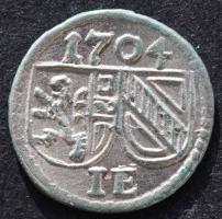 Salzburg, Johann Ernst, Pfennig 1704