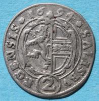 2 Kreuzer (Halbbatzen) 1694