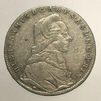 MÜNZEN MACHO : Salzburg, Colloredo: 20 kreuzer 1792