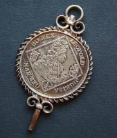 Uhrschlüssel 1/4 Taler, Leopold 1701, Mitte 19.Jhdt.