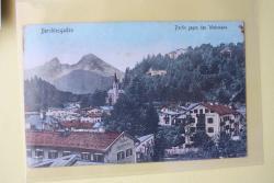 Ansichtskarte Berchtesgaden. Partie gegen den Watzmann.