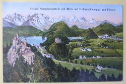 Schloß Neuschwanstein und Füssen