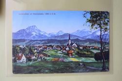 Holzkirchen mit Wendelstein