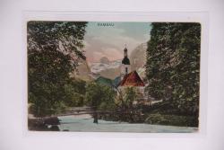 MÜNZEN MACHO ansichtskarte : Ramsau