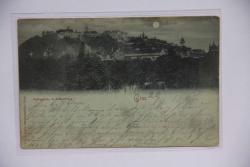 Graz, Volksgarten u. Schlossberg 1897