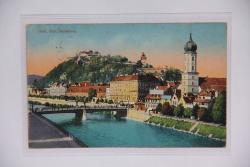 Graz, Mur, Schloßberg 1916