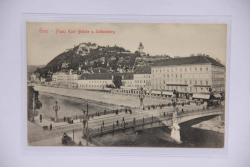Graz - Franz Karl Brücke u. Schlossberg