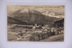 Mariazell, 862m Seehöhe..