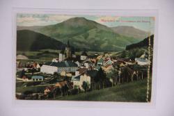 Mariazell mit Gemeindealpe und Ötscher