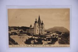Mariazell, Gruß aus; Kirchenplatz
