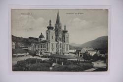 Mariazell Hauptplatz mit Kirche