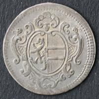 2 Kreuzer (Halbbatzen) 1755 Salzburg