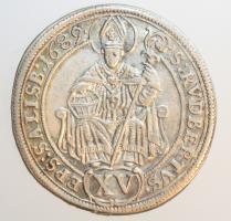 Salzburg Johann Ernst Thun Hohenstein, 15 Kreuzer 1689