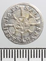 Salzburg, Guidobald Thun (1654-1668): kreuzer 1659
