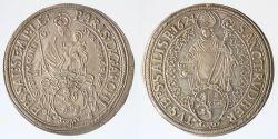 Taler 1624 mit VOLLEN Arabesken  R!