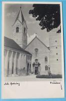 MÜNZEN MACHO : Ansichtskarte Freising, Kirche, 1941