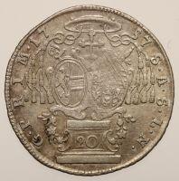 Salzburg, Sigismund Schrattenbach, 1753-1771: 20 Kreuzer 1757