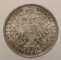 Franz Josef, 1 Gulden 1891
