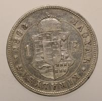Franz Josef, 1 Forint 1883 KB