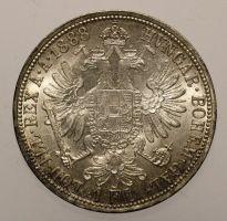 Franz Josef, 1 Gulden 1888