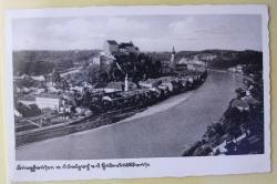 MÜNZEN MACHO ansichtskarte : Burghausen a. d. Salzach