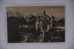 K. Schloss Nueschwanstein im Winter