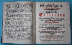 MÜNZEN MACHO : Historische Nachricht von bayerischen Münzen, oder muthmaßliche Erklärung derer zu Reichenhall ausgegrabenen